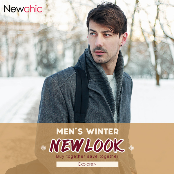 Men's Winter New Look--Buy together save more