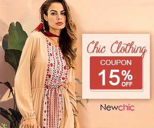 15% off Women Clothes; Get the exclusive coupon in the landing page.
