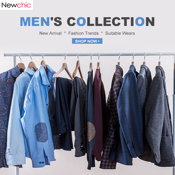 Up to 47% off for Men's Wear