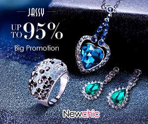 UP TO 95% OFF Fashion Jewelry;  End Date: Dec 31st, 2018