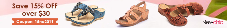 15% Off Women Comfortable Sandals; Code:15nc2019; Expire on 07/31/2019