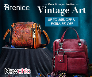 8% OFF On Order $50+ For Vintage Bags; Code: ncbrands; Valid until:November 14, 2018