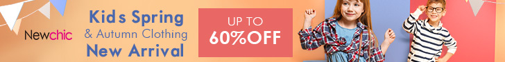 Kid's Spring & Autumn Clothing New Arrival Up to 60% Off