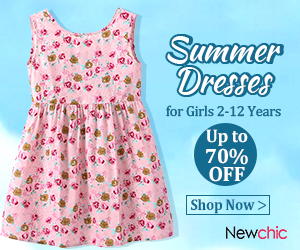 Up to 70% Off Girl's Dress 2-12 Years