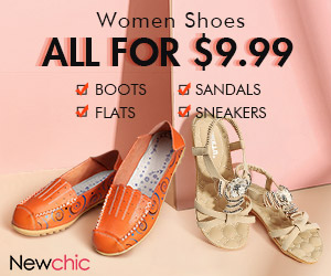 Women Shoes Clearance All $9.99; Expire on 2/28/2019