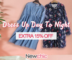 Extra 15% OFF Dress; Coupon code:dress15; Expiry Date:Sep 10, 2018