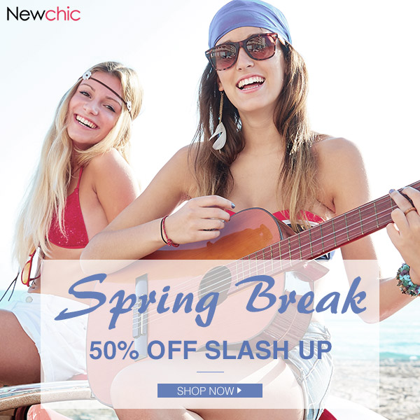 Up To 50% Off Spring Break