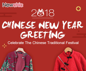 Happy Chinese New Year!Buy 3 Get 20% Off