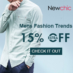 Extra 15% OFF Men's 2018 Fashion Trends,Get the exclusive coupon in the landing page.