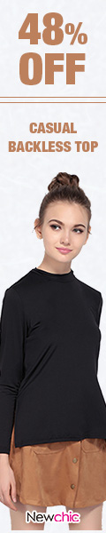 Up To 48% OFF Women Casual Backless Long Sleeve Top