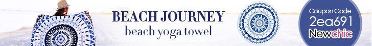 Up to 53% Off for Beach Yoga Towels - Coupon Code: 2ea691