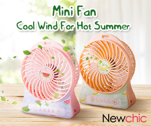 Up to 52% off for Mini Fans