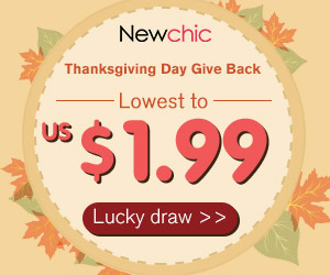 Exclusive Discount + Lucky draw for Thanksgiving