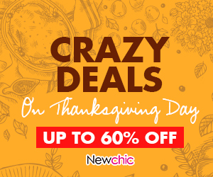 UP TO 60% OFF Crazy Deal On Thanksgiving Day