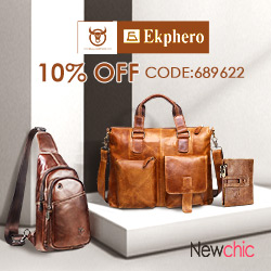 10% Off for Men's & Women's genuine leather bags/wallets(coupon code:689622)