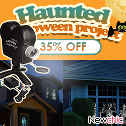 Newchic Halloween Spooky Nights Party Lights 35%OFF