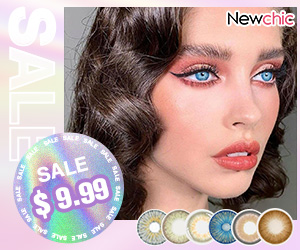 Newchic $9.99 Colored contact lense hot sale