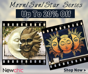 Newchic Moon/Sun/Star Series Up To 20% Off