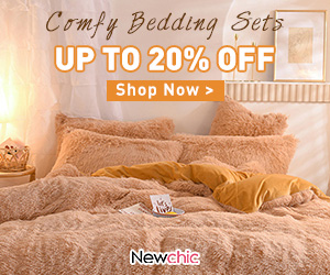 Newchic Bedding Sets Up  To 20% OFF