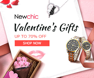 Up to 70% Off for Valentine's Gifts