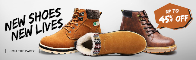 Up To 45% OFF for Men's Shoes Boots