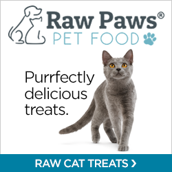Shop Raw Cat Treats at RawPawsPetFood.com