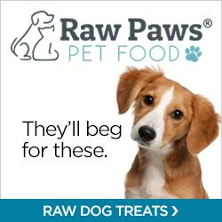 Shop Raw Dog Treats at RawPawsPetFood.com