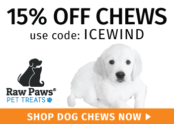 15% Off Dog Chews - use promo ICEWIND