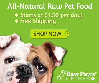 All Natural Raw Pet Food, as low as $1.50 per day!