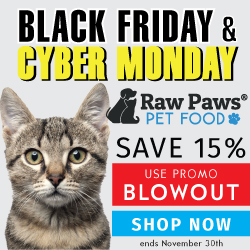 Cyber Monday & Black Friday Deals at Raw Paws Pet Food
