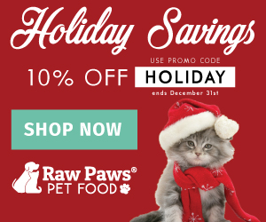 Holiday Savings at Raw Paws Pet Food