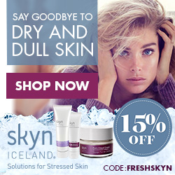Say Goodbye to Dry and Dull Skin with skynICELAND! 15% OFF CODE: FRESHSKYN