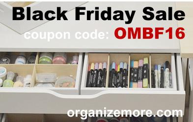 OrganizeMore Black Friday sale!