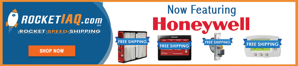 Now Featuring Honeywell Products