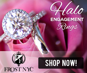 Halo Engagement Rings @ FRostNYC.com