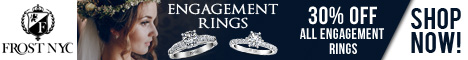 30% off Engagement Rings @ FRostNYC.com