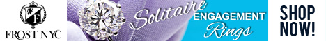Solitaire Engagement Rings @ FrostNYC.com