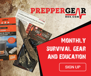 Monthly Prepper Gear Box Sign up