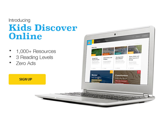 Introducing Kids Discover Online