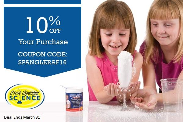 Save 10% Off at Steve Spangler Science