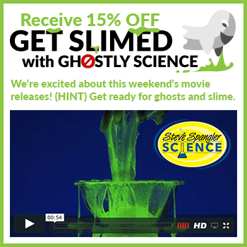 Get Slimed with Ghostly Science