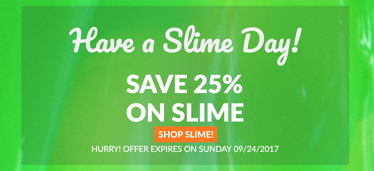 September Slime Sale