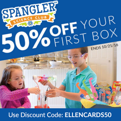 Save 50% Off Your First Science Kit!