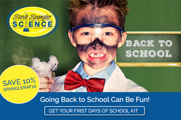 Going back to school can be fun with Steve Spangler Science!