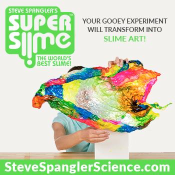 Steve Spangler Super Slime Art
