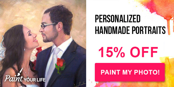 Personalized handmade painting from your photo