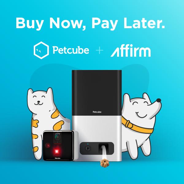 Petcube Play+Bites Bundle with Affirm
