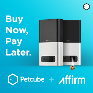 Petcube Bites 2-Pack Bundle with Affirm