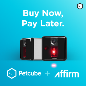 Petcube Play 2-Pack Bundle with Affirm