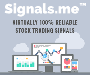 Signals.me - Virtually 100% reliable stock trading signals